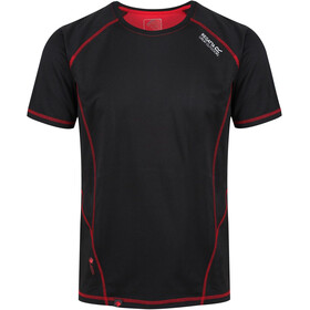 Regatta Virda II T-Shirt Men Black/Classic Red
